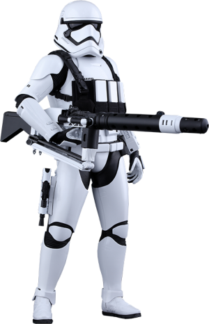 First Order Heavy Gunner Stormtrooper Sixth Scale Figure