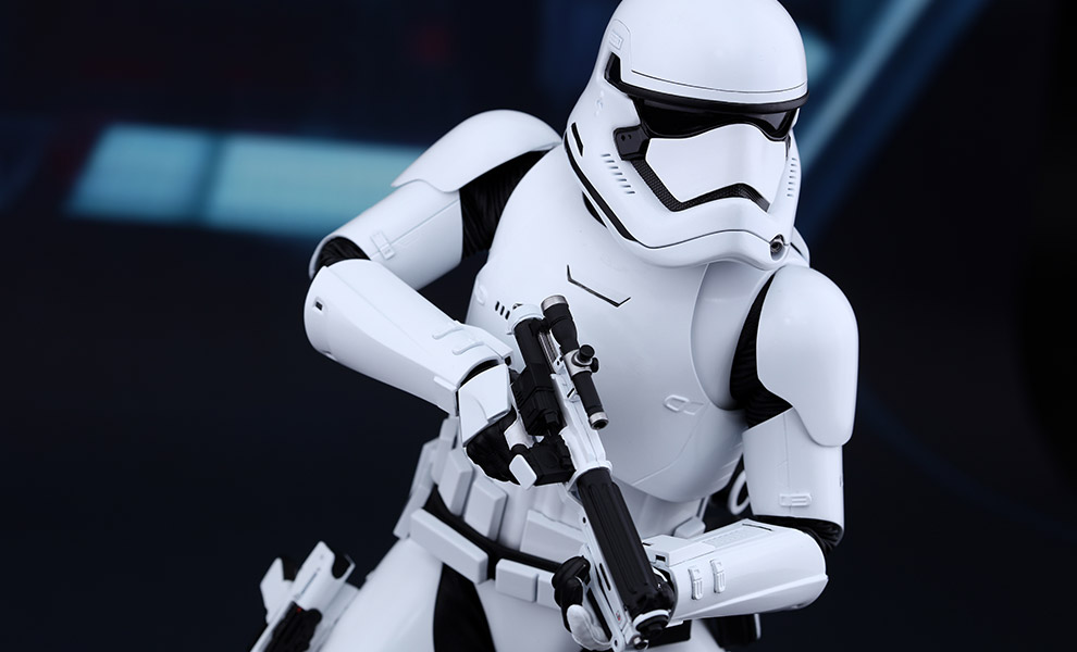 Gallery Feature Image of First Order Stormtrooper Sixth Scale Figure - Click to open image gallery