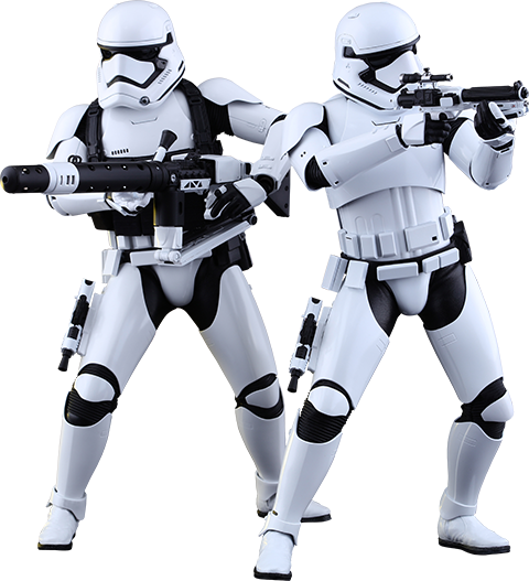 Hot Toys First Order Stormtroopers Sixth Scale Figure