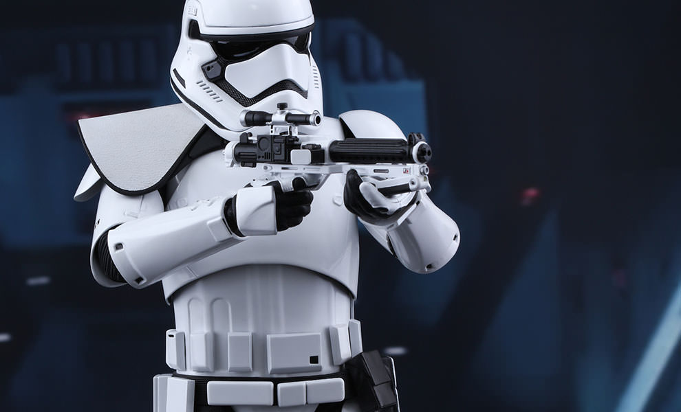Gallery Feature Image of First Order Stormtrooper Squad Leader Sixth Scale Figure - Click to open image gallery
