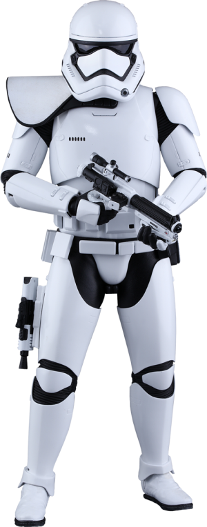 First Order Stormtrooper Squad Leader Sixth Scale Figure