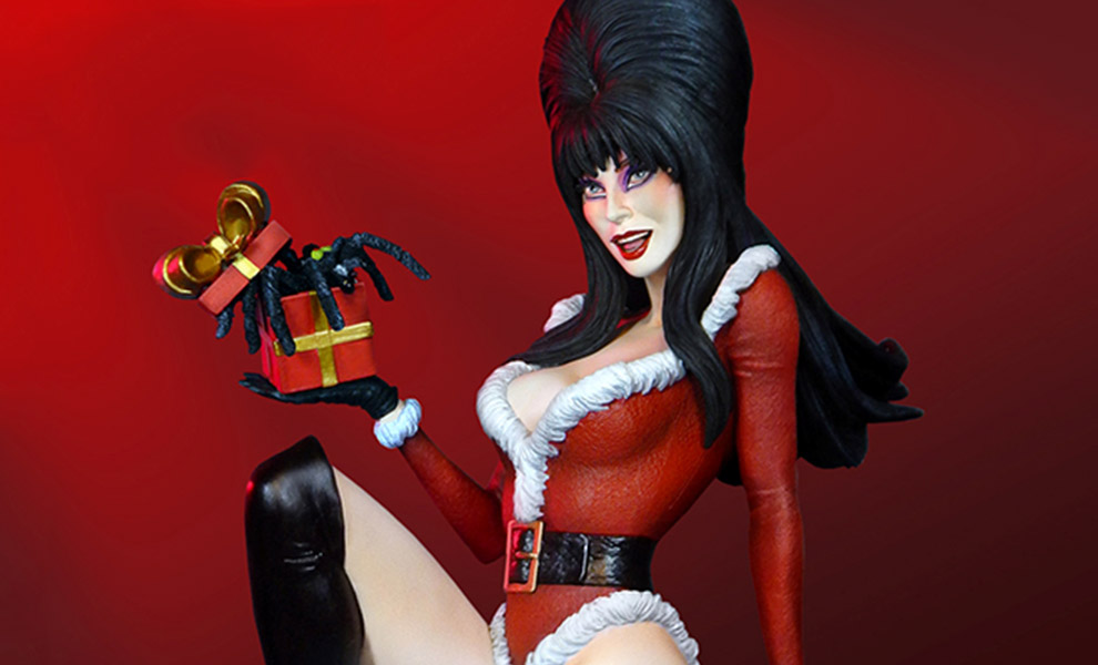 Gallery Feature Image of Elvira Scary Christmas Maquette - Click to open image gallery