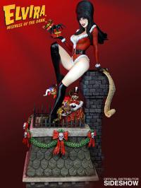 Gallery Image of Elvira Scary Christmas Maquette
