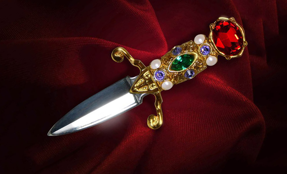 Gallery Feature Image of Elvira Dagger Prop Replica - Click to open image gallery
