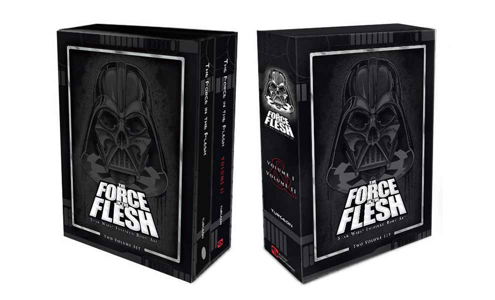 Gallery Feature Image of The Force in the Flesh Limited Edition Slipcase Set Book - Click to open image gallery