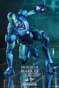 Gallery Image of Iron Man Mark III Stealth Mode Version Sixth Scale Figure