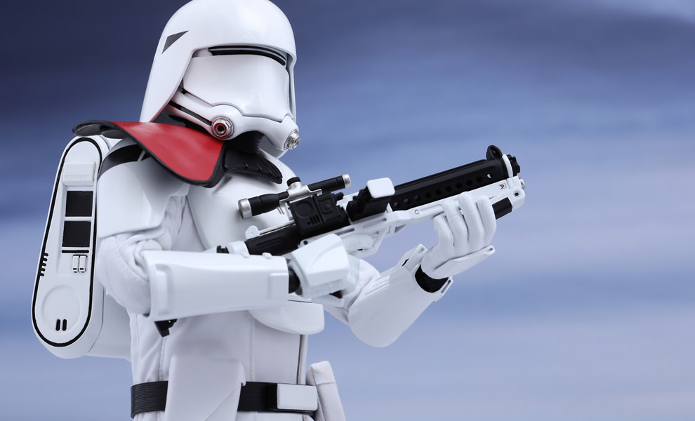 Gallery Feature Image of First Order Snowtrooper Officer Sixth Scale Figure - Click to open image gallery