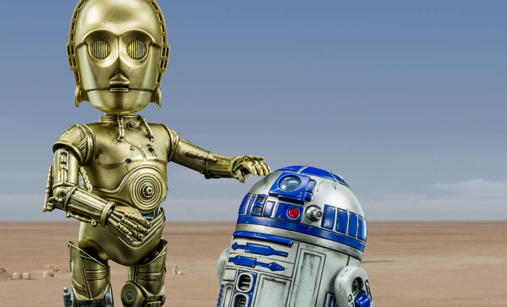 Gallery Feature Image of C-3PO and R2-D2 Collectible Figure - Click to open image gallery
