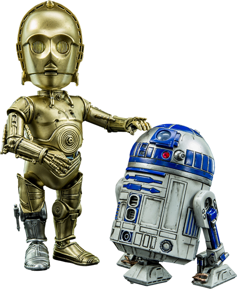 Herocross Company Limited C-3PO and R2-D2 Collectible Figure