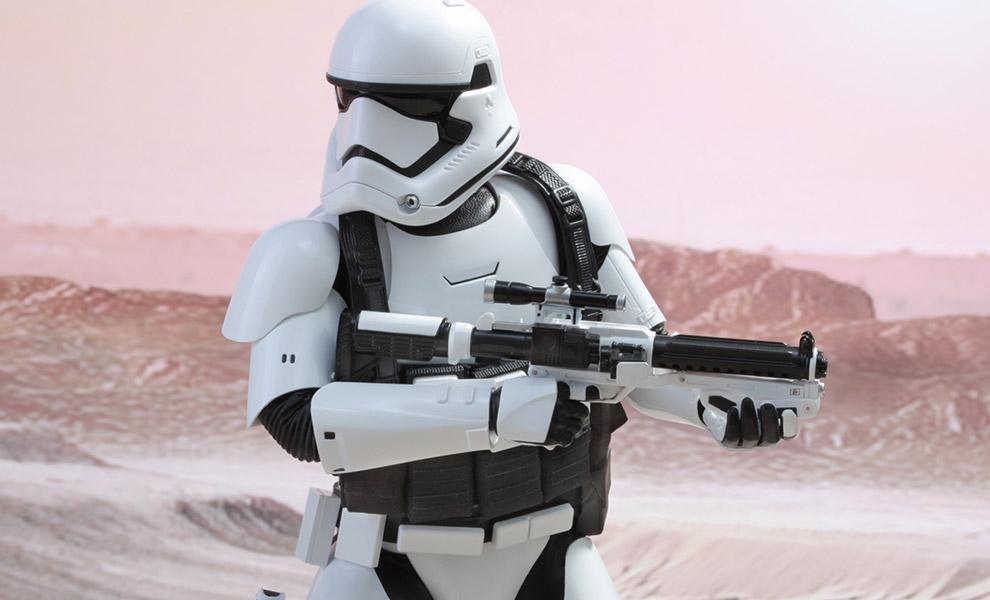 Gallery Feature Image of First Order Stormtrooper Jakku Exclusive Sixth Scale Figure - Click to open image gallery