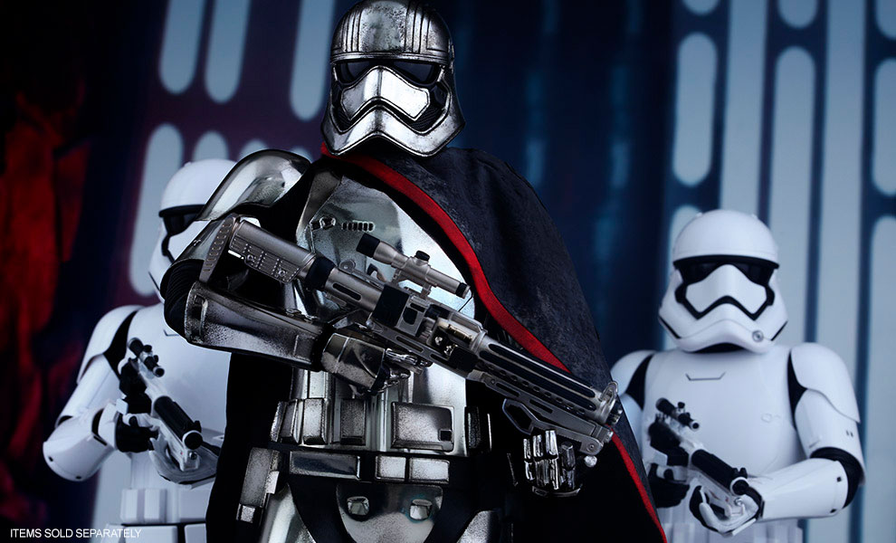 Gallery Feature Image of Captain Phasma Sixth Scale Figure - Click to open image gallery