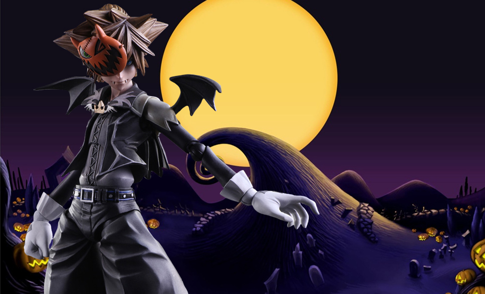 Gallery Feature Image of Sora Halloween Town Version Collectible Figure - Click to open image gallery