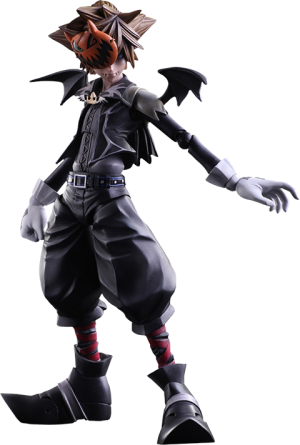 Sora Halloween Town Version Collectible Figure