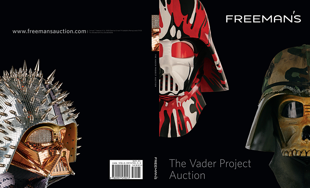 Gallery Feature Image of The Vader Project Auction Catalog Book - Click to open image gallery