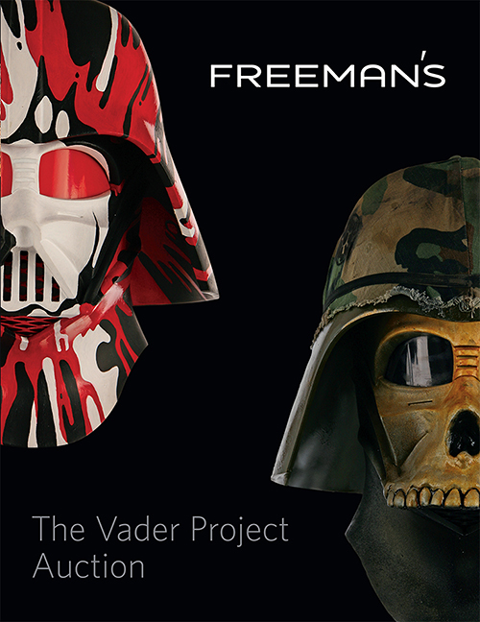DKE Toys The Vader Project Auction Catalog Book