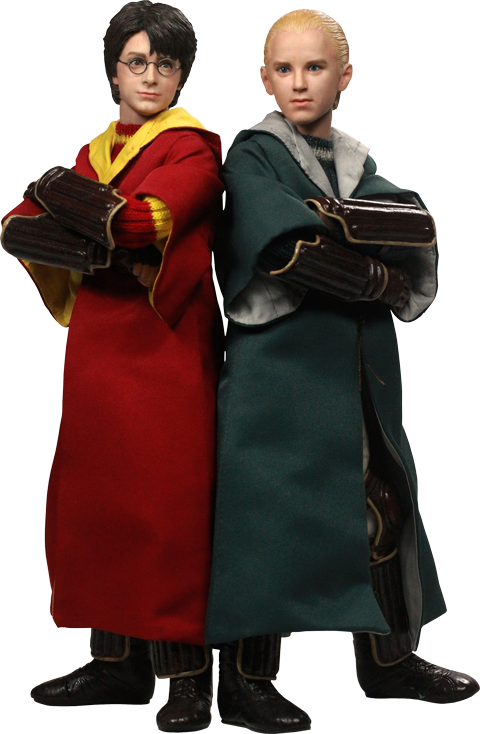 Star Ace Toys Ltd. Harry Potter and Draco Malfoy Quidditch Version Sixth Scale Figure