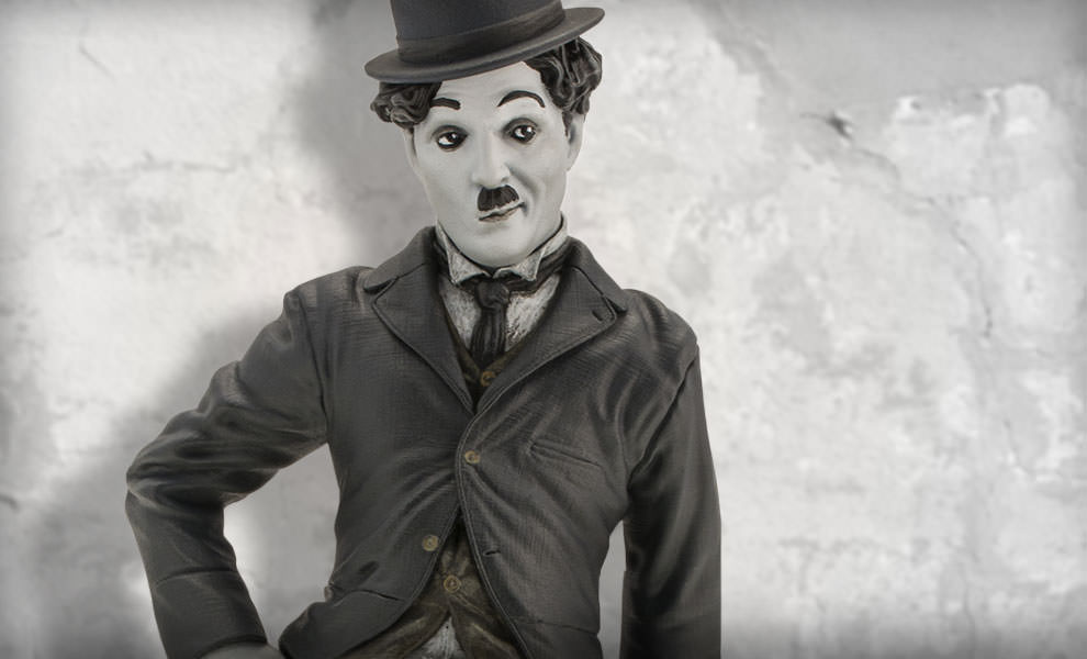 Gallery Feature Image of Charlie Chaplin The Tramp Statue - Click to open image gallery