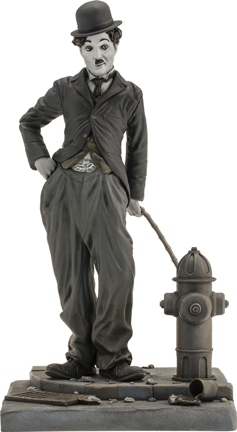 Infinite Statue Charlie Chaplin The Tramp Statue