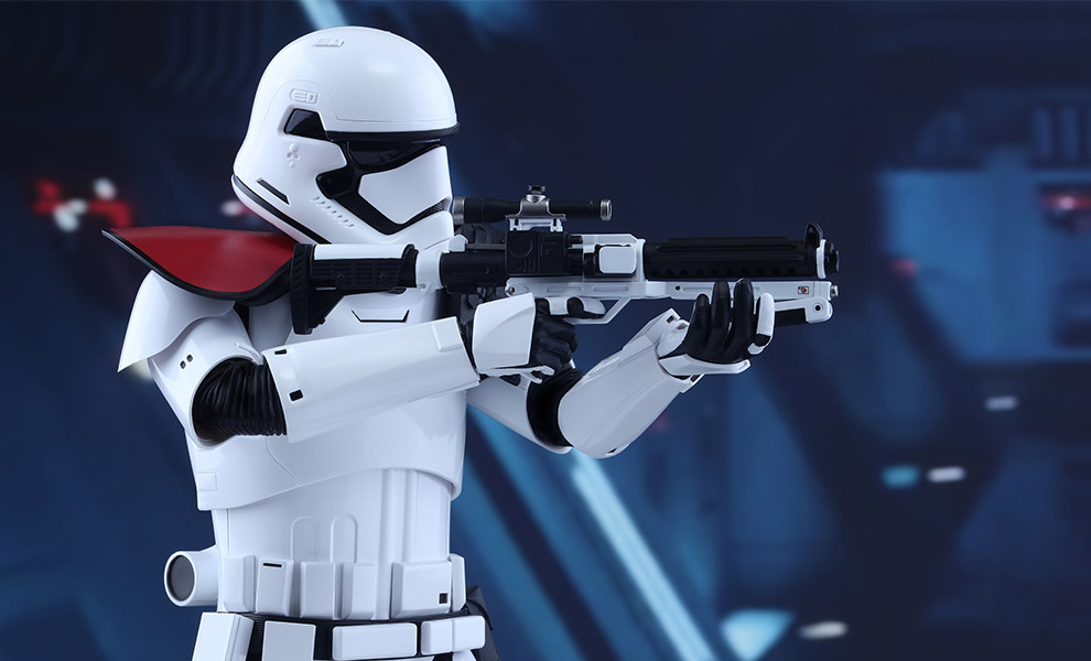 Gallery Feature Image of First Order Stormtrooper Officer Sixth Scale Figure - Click to open image gallery