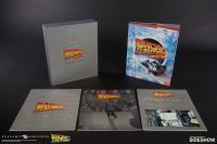 Gallery Image of Back to the Future Sculpted Movie Poster and The Ultimate Visual History Collectors Edition Collectible Set