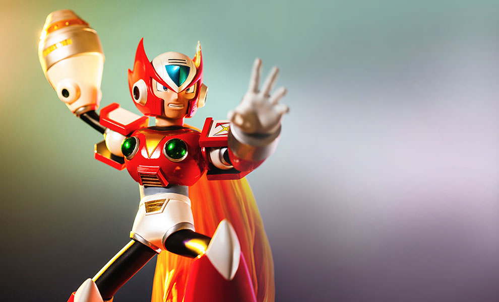 Gallery Feature Image of Megaman X - Zero Statue - Click to open image gallery