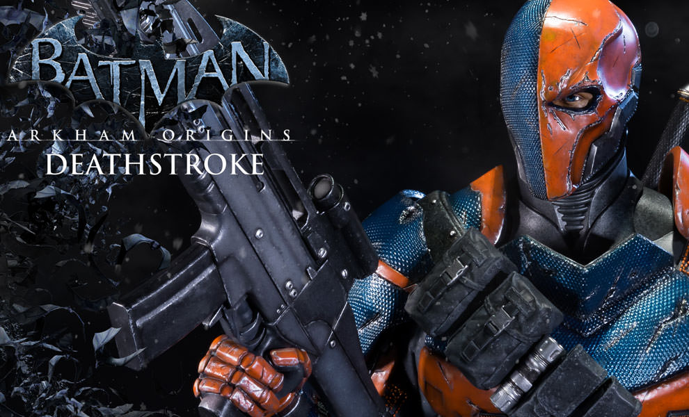 Gallery Feature Image of Deathstroke Statue - Click to open image gallery