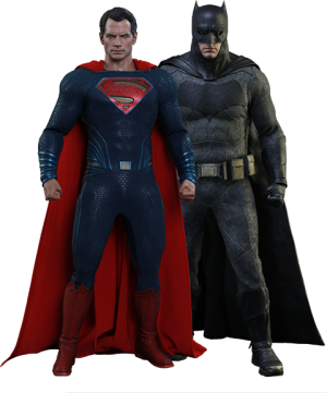 Batman Special Edition and Superman  Sixth Scale Figure