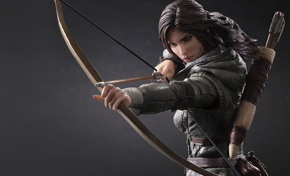Gallery Feature Image of Lara Croft Collectible Figure - Click to open image gallery