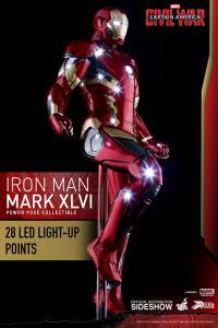Gallery Image of Iron Man Mark XLVI Sixth Scale Figure