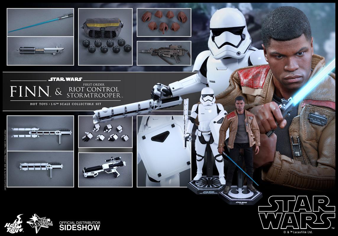 Hot Toys 1:6 MMS346 Star Wars Riot Control Stormtrooper Figure Lower Leg Armor