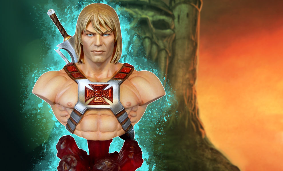 Gallery Feature Image of He-Man Collectible Bust - Click to open image gallery