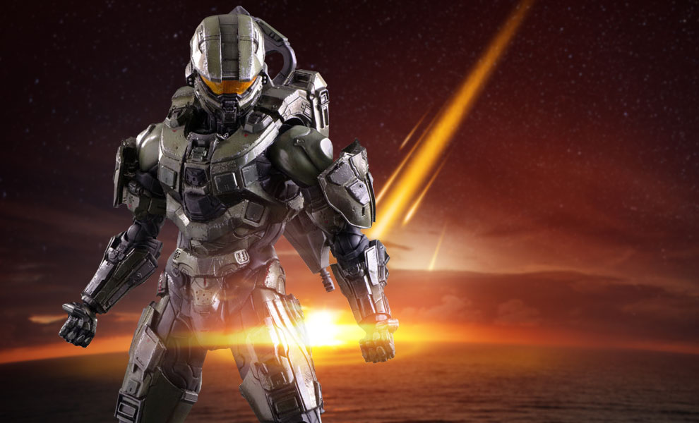 Gallery Feature Image of Master Chief Collectible Figure - Click to open image gallery