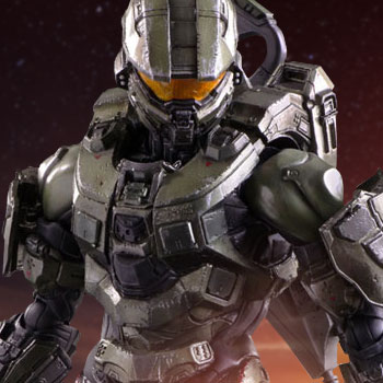 HALO Master Chief Collectible Figure by Square Enix