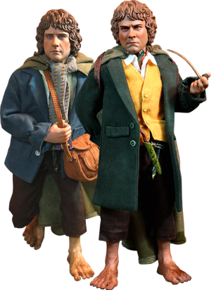Merry and Pippin Sixth Scale Figure