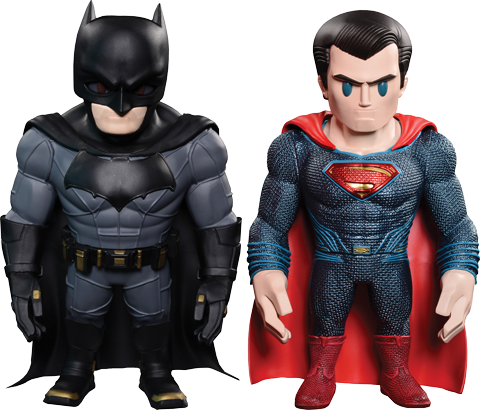 Hot Toys Batman and Superman Collectible Set