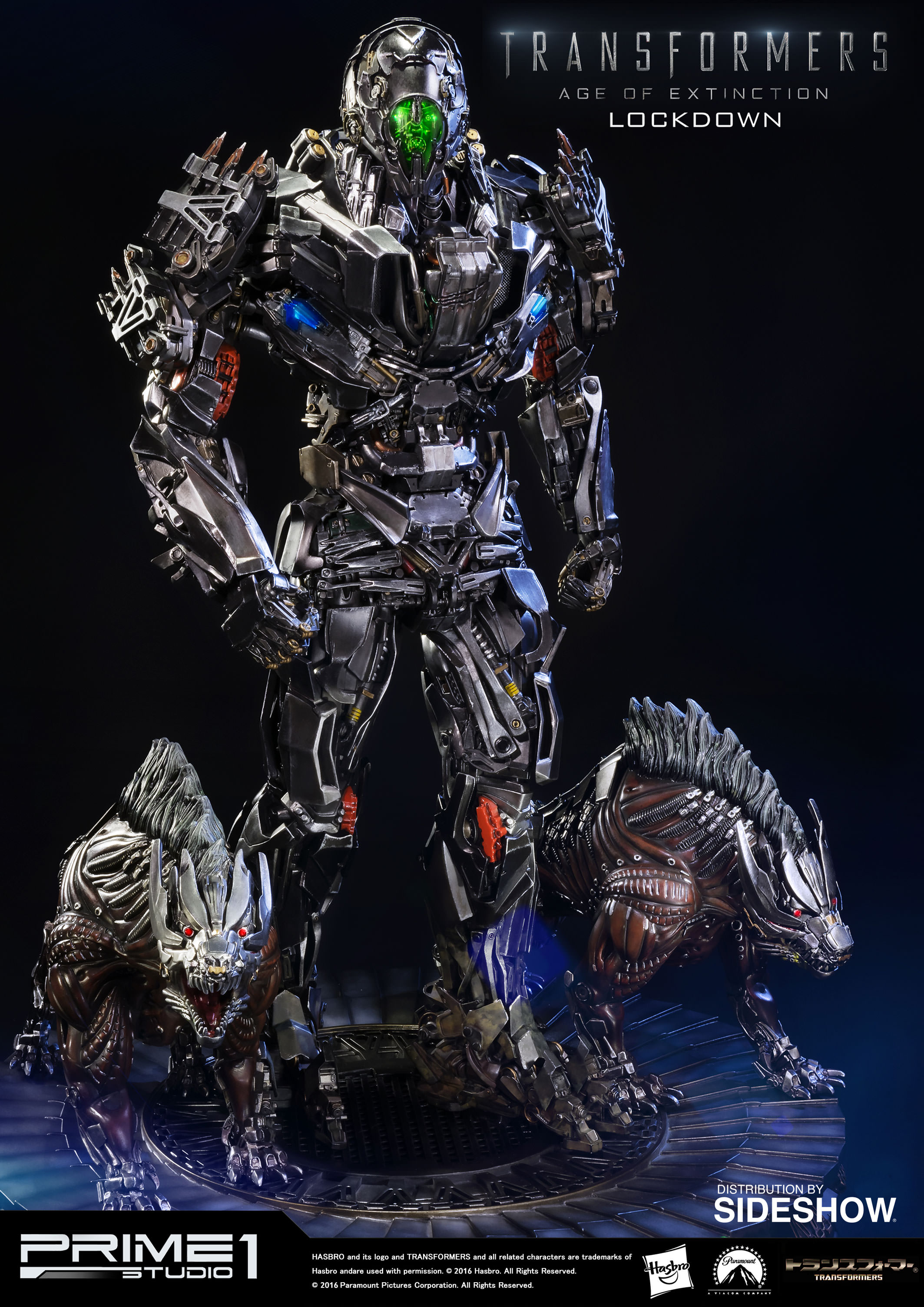 Transformers Lockdown Polystone Statue by Prime 1 Studio ...