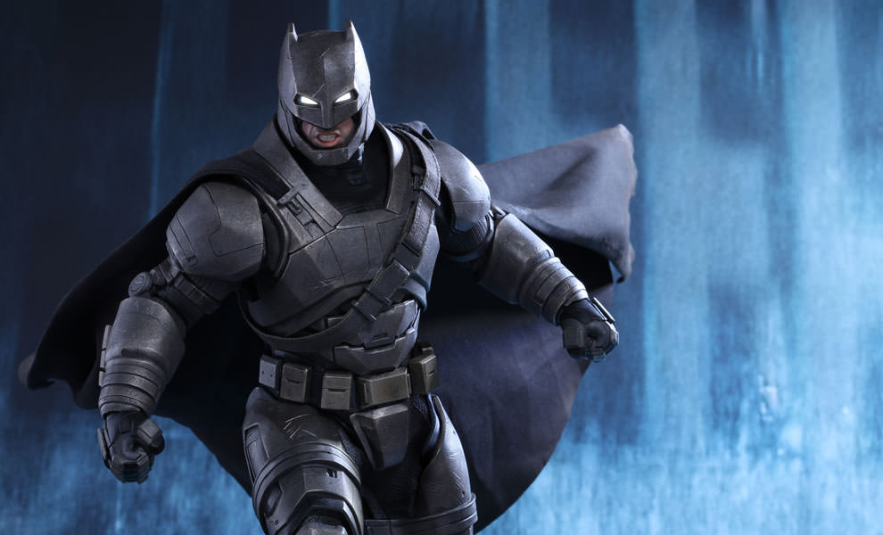 Gallery Feature Image of Armored Batman Sixth Scale Figure - Click to open image gallery