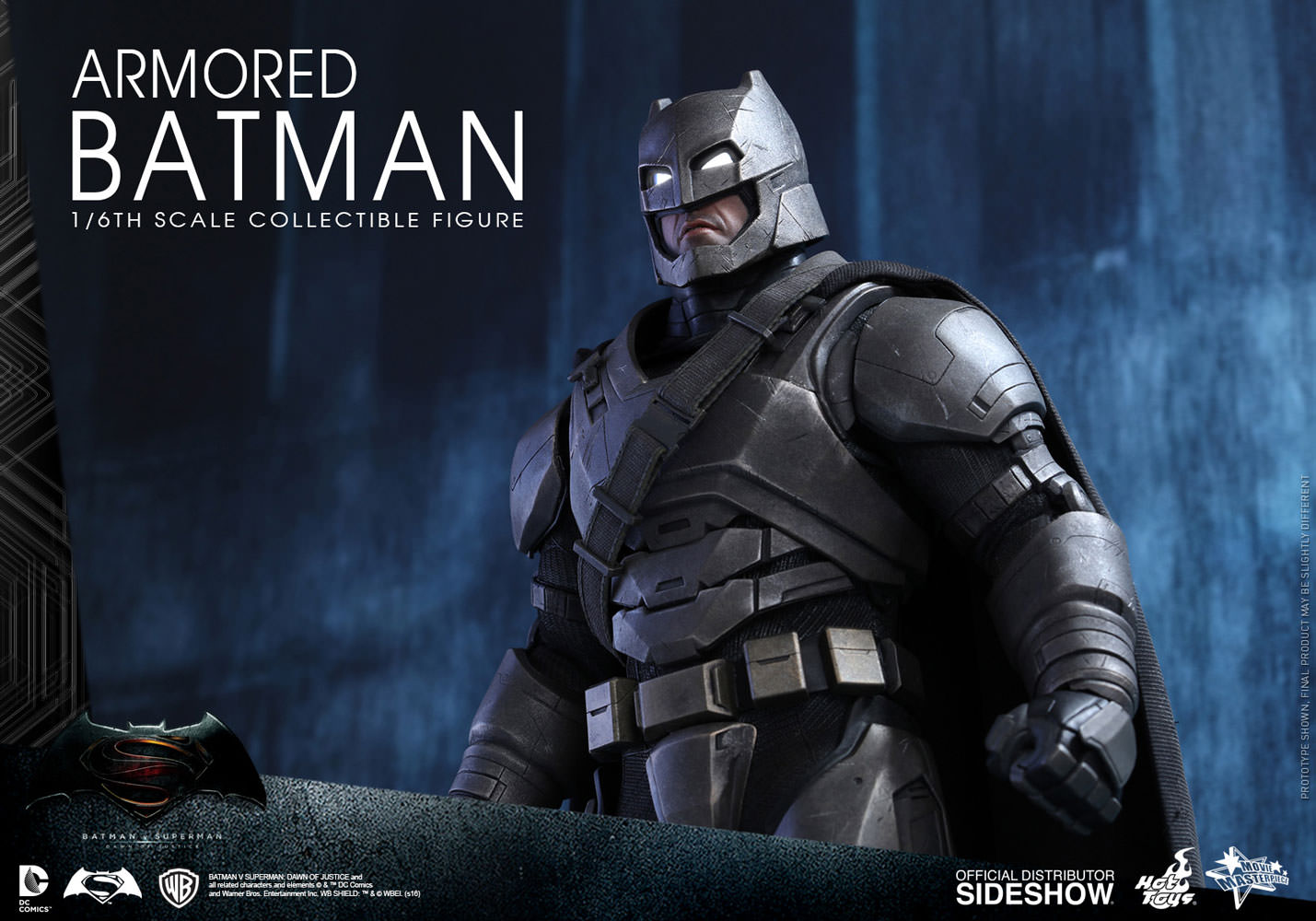 DC Comics Armored Batman Sixth Scale Figure by Hot Toys