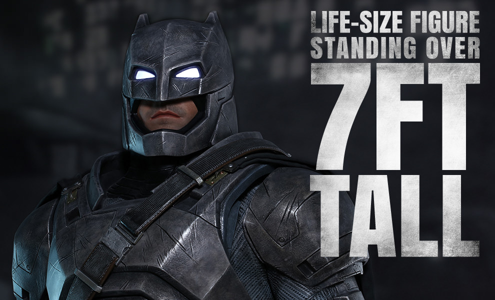 Gallery Feature Image of Armored Batman Life-Size Figure - Click to open image gallery