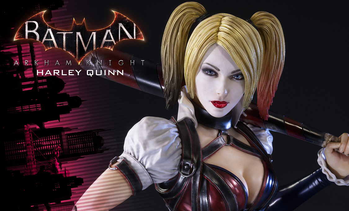Gallery Feature Image of Harley Quinn Polystone Statue - Click to open image gallery
