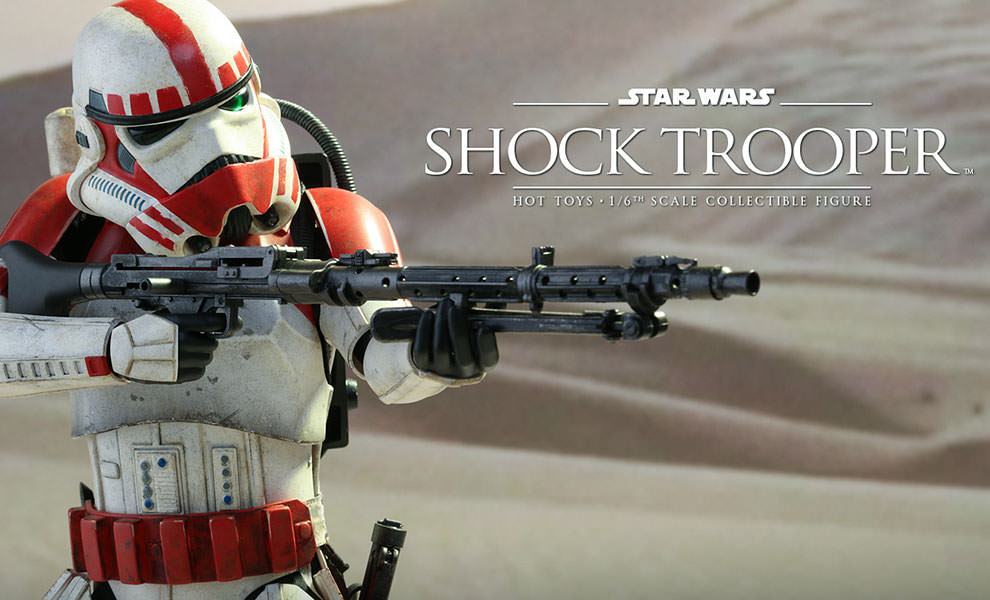 Gallery Feature Image of Shock Trooper Sixth Scale Figure - Click to open image gallery