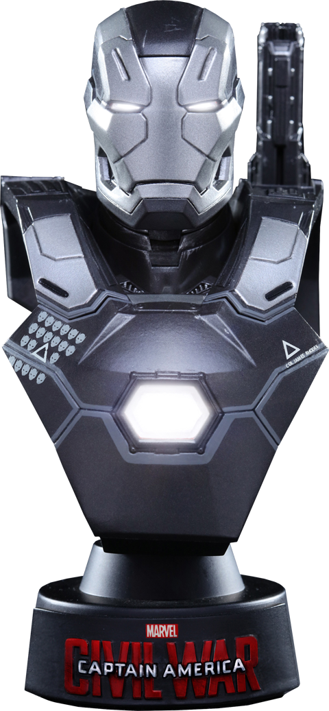 Hot Toys War Machine Mark III Collectible Bust