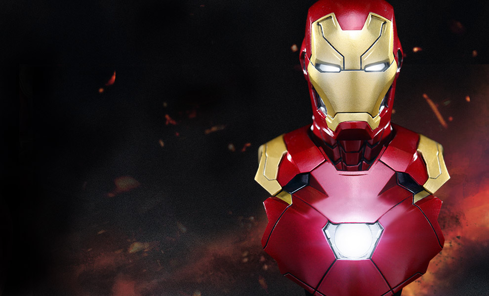 Gallery Feature Image of Iron Man Mark XLVI Collectible Bust - Click to open image gallery