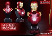 Gallery Image of Iron Man Mark XLVI Collectible Bust