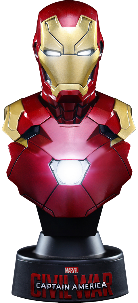 Hot Toys Iron Man Mark XLVI Collectible Bust