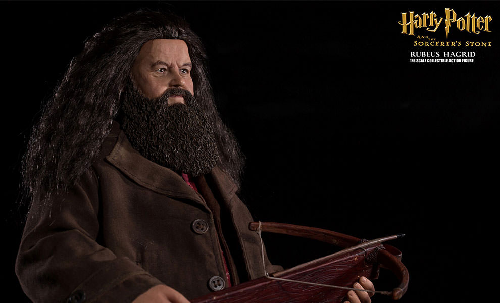 Gallery Feature Image of Rubeus Hagrid Sixth Scale Figure - Click to open image gallery