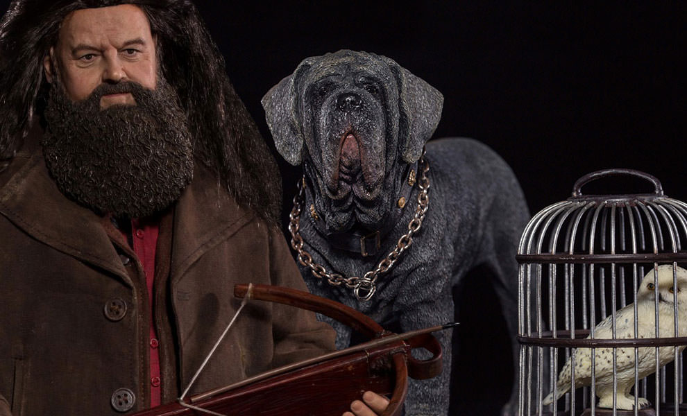 Gallery Feature Image of Rubeus Hagrid - Deluxe Version Sixth Scale Figure - Click to open image gallery
