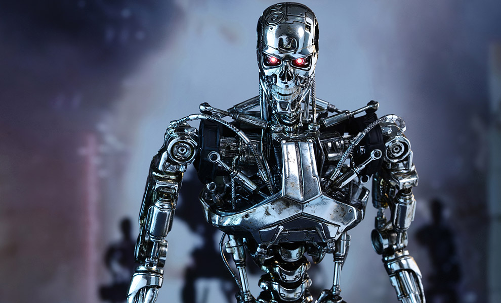 Gallery Feature Image of Endoskeleton Sixth Scale Figure - Click to open image gallery