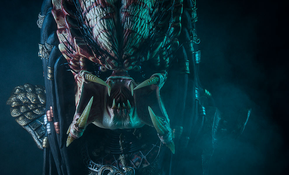 Gallery Feature Image of Predator 2 Life-Size Bust  Prop Replica - Click to open image gallery
