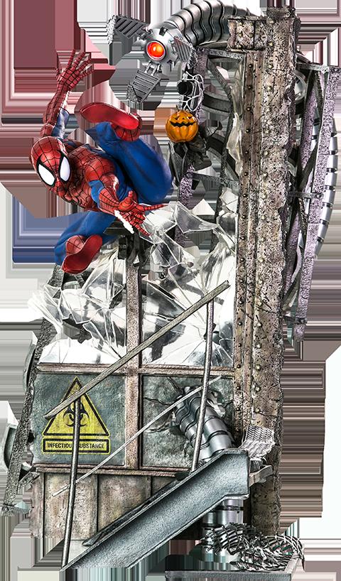 Iron Studios Spider-Man Polystone Statue
